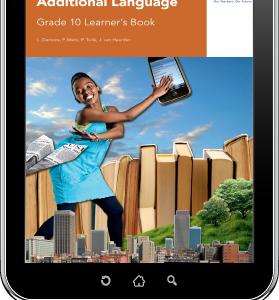 eBook ePub for Tablets: Via Afrika English First Additional Language Grade 10 Learner's Book