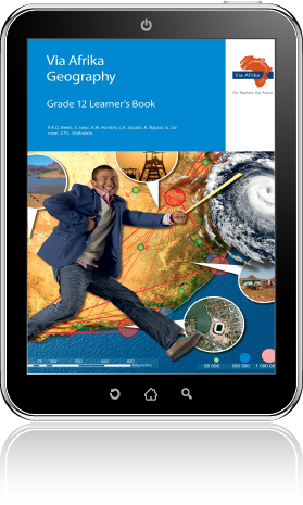 eBook ePub for Tablets: Via Afrika Geography Grade 12 Learner's Book