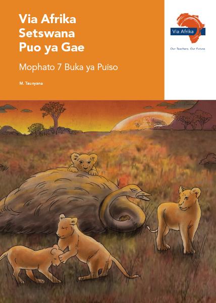Via Afrika Setswana Home Language Grade 7 Reader