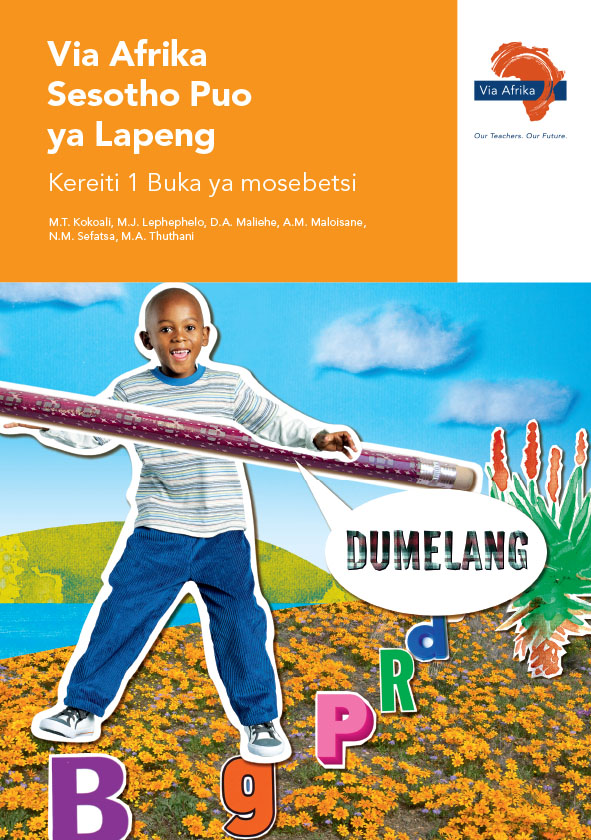 Via Afrika Sesotho Home Language Grade 1 Workbook