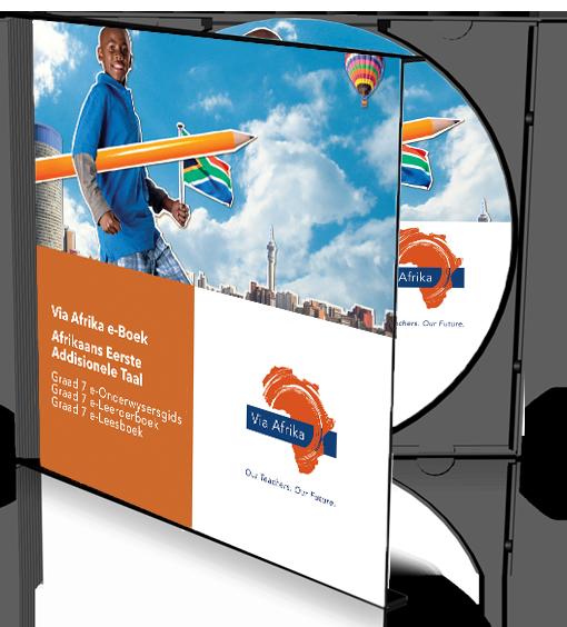 e-Boek Onderwysersweergawe op CD vir rekenaars: Via Afrika Afrikaans Eerste Addisionele Taal Graad 7 Onderwysersgids en Leerderboek