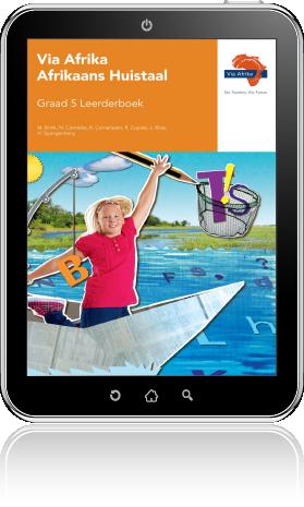 e-Boek ePub vir Android-tablette: Via Afrika Afrikaans Huistaal Graad 5 Leerderboek