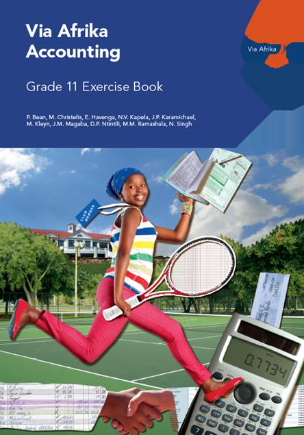 Via Afrika Accounting Grade 11 Exercise Book