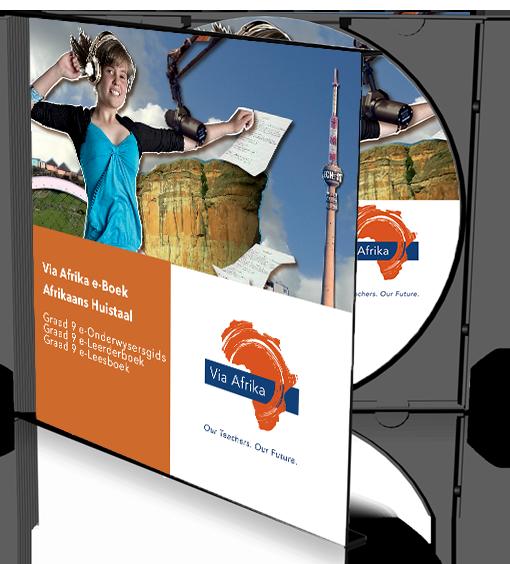 e-Boek Onderwysersweergawe op CD vir rekenaars: Via Afrika Afrikaans Huistaal Graad 9 Onderwysersgids en Leerderboek