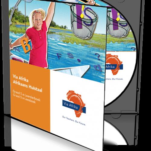e-Boek op CD vir rekenaars: Via Afrika Afrikaans Huistaal Graad 5 Leerderboek