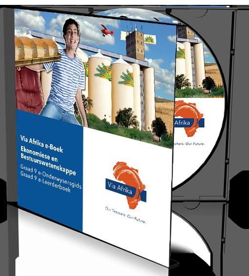 e-Boek Onderwysersweergawe op CD vir rekenaars: Via Afrika Ekonomiese en Bestuurswetenskappe Graad 9 Onderwysersgids en Leerderboek