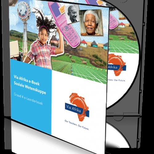 e-Boek op CD vir rekenaars: Via Afrika Sosiale Wetenskappe Graad 4 Leerderboek