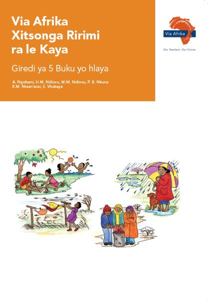 Via Afrika Xitsonga Home Language Grade 5 Reader