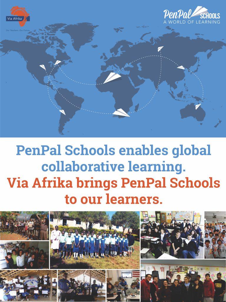 PenPal Schools mural