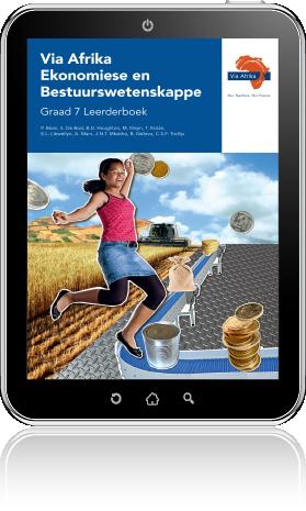 e-Boek PDF: Via Afrika Ekonomiese en Bestuurswetenskappe Graad 7 Leerderboek