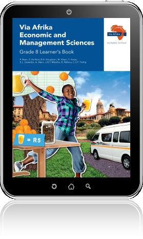 eBook PDF: Via Afrika Economic and Management Sciences Grade 8 Learner's  Book