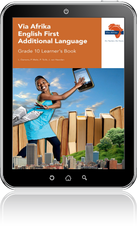 eBook PDF: Via Afrika English First Additional Language Grade 10 Learner's  Book