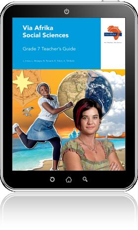 eBook PDF: Via Afrika Social Sciences Grade 7 Teacher's Guide
