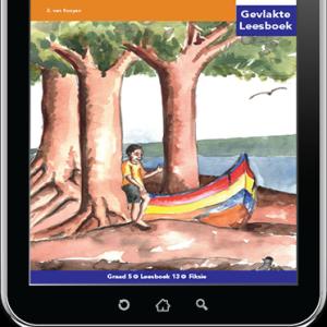 e-Boek (e-PDF): Via Afrika Afrikaans Huistaal Intermediêre Fase Gevlakte Leesboek 13: Die boom in die boot
