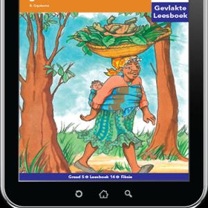e-Boek (e-PDF): Via Afrika Afrikaans Huistaal Intermediêre Fase Gevlakte Leesboek 14: Ouma en die wilde goed