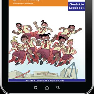 e-Boek (e-PDF): Via Afrika Afrikaans Huistaal Intermediêre Fase Gevlakte Leesboek 15: Mense in my gemeenskap