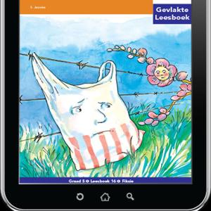 e-Boek (e-PDF): Via Afrika Afrikaans Huistaal Intermediêre Fase Gevlakte Leesboek 16: Die ding op die draad