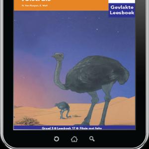 e-Boek (e-PDF): Via Afrika Afrikaans Huistaal Intermediêre Fase Gevlakte Leesboek 17: Duin van die wilde volstruis