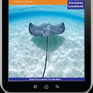 e-Boek (e-PDF): Via Afrika Afrikaans Huistaal Intermediêre Fase Gevlakte Leesboek 21: Lug- en seediere