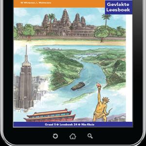 e-Boek (e-PDF): Via Afrika Afrikaans Huistaal Intermediêre Fase Gevlakte Leesboek 24: Mensgemaakte wonders van die wêreld
