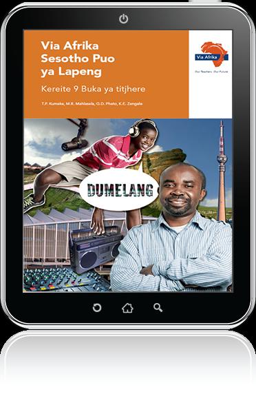 eBook (ePDF): Via Afrika Sesotho Home Language Grade 9 Teacher's Guide